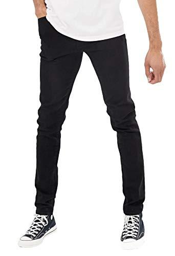 Skinny Stretch Jeans Straight Slim Fit Fashion Denim Cotton Jeans 32 ()