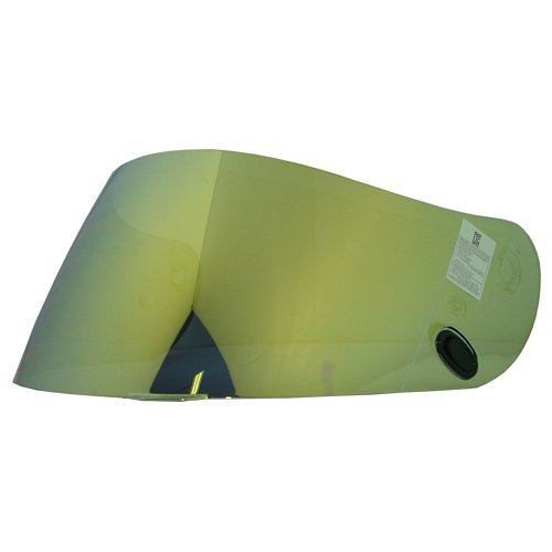 - HJC HJ-09 RST Gold Visor Shield for AC-12, CL-15, CL-16,CL-17,CL-SP,CS-R1,CS-R2,FS-10, FS-15, IS-16, FG-15, Kawasaki ZX, Kawasaki ZXSP