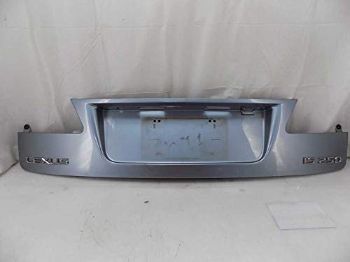 (Lexus Trunk Deck Lid License Plate Panel Left Driver Side IS250 IS350 06-08)
