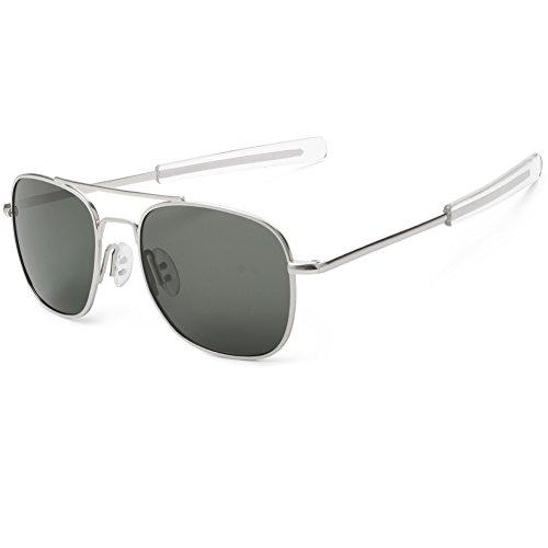 WELUK de Grey amp; soleil Lunettes Homme Silver Fa7qxwFSr