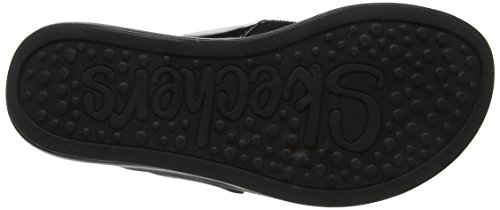 Skechers Ladies Upgrade Sandali Con Plateau Nero (nero)