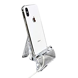 COM.TOP – Acrylic Cell Phone Holder, Mobile Phone Stand, Tablet Stand | Office Supplies, Stationery Organizer, Desk…