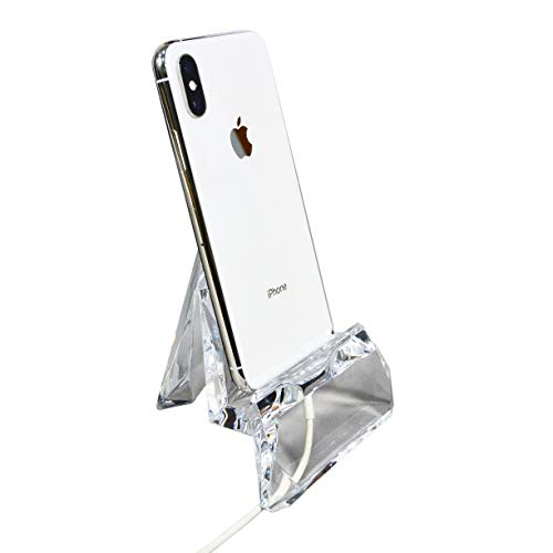 - COM.TOP - Acrylic Smartphone Stand, Smartphone Holder, Tablet Stand | Office Supplies, Stationery Organizer, Desk Accessories - Clear