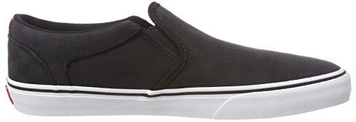 Nero White Deluxe Rd4 Asher Black Infilare Sneaker Jacquard Vans Uomo Check wAXzZ5x