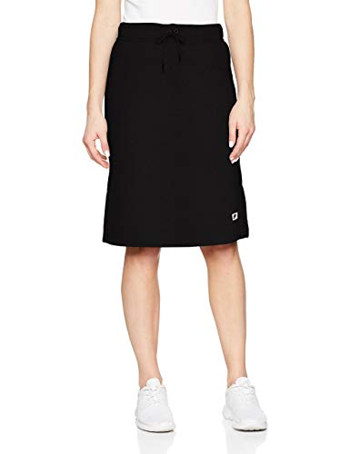 NIKE Women's Sports Casual Modern Skirt-Black-Small ()
