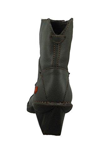 ART Leder Stiefelette Ankle Boot Oteiza Humo Grau 0621 Humo