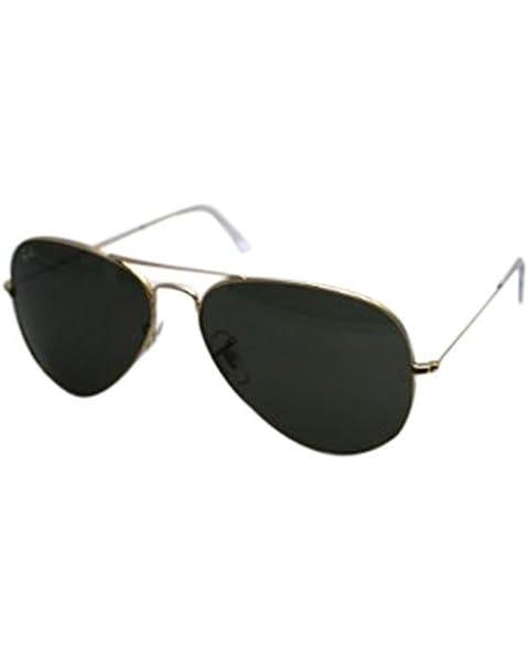 21e192099 Amazon.com: Ray-Ban RB3025 Polarized Mirror Aviator Sunglasses: Shoes