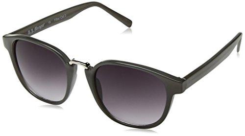A.J. Morgan Maximus Round Sunglasses, Grey, 52 mm