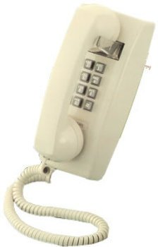 25401 Wall Phone Ash - - Scitec Aegis 2554 Single-Line Wall Telephone- Sturdy Bell Ringer- Full Dial Pad- Designed For A Wide Range Of Home And Commercial Environments- Industry Standard Styling- Lon