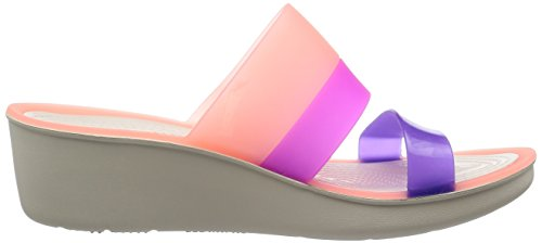 Crocs Melon Womens Melon ColorBlock ColorBlock Crocs Stucco Womens Crocs Wedge Wedge Stucco 50Uwv