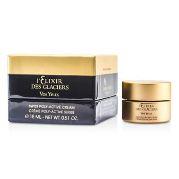 Valmont Elixir des Glaciers Vos Yeux Swiss Poly-Active Eye Regenerating Cream (New Packaging) 15ml/0.5oz by Valmont