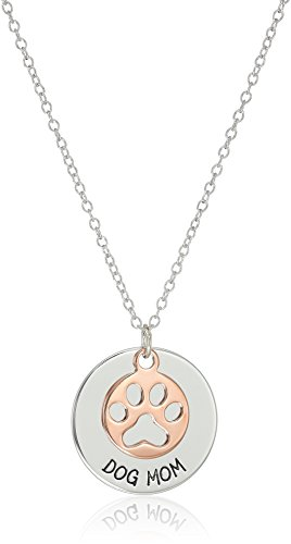 14k Rose Gold and Rhodium Plated Sterling Silver Two Tone Engraved