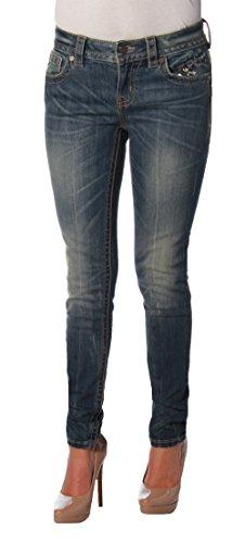 Miss Me Women's Basic Flap Pocket Boot Cut Denim Jean, MK, 29