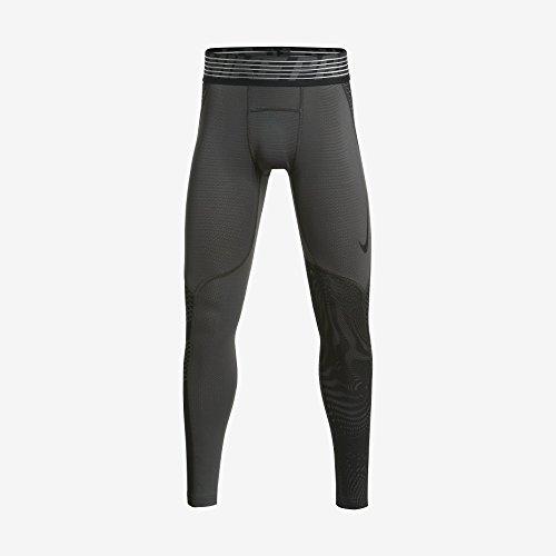 Boys' Nike Pro Hypercool Tight Midnight Fog/Black X-Large by NIKE