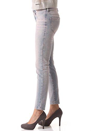 Diesel Livier-Ankle-SP 0605V Damen Jeans Hose Slim Jegging Rosa Lz8AUwQ