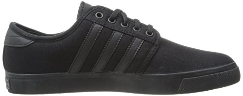adidas Originals SEELEY de hombres Lace Up Zapatos Black/Black/Dark Cinder