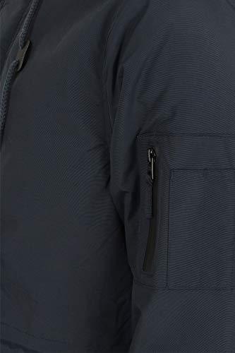 Parka Doublé Laundry Blouse Bleu Tokyo Sherpa Veste Manteau Pulsar Pour 'patogonia' Par Capuche Marine À Hommes wPxHrPznqX