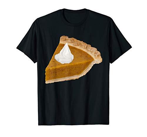 Slice Of Pumpkin Pie T-Shirt Thanksgiving Dessert Bake Cream -
