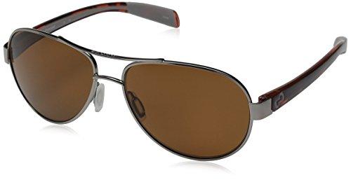 Native Eyewear Haskill Polarized Sunglass, Chrome and Maple Tort Frame/Brown - Amazon Native Sunglasses