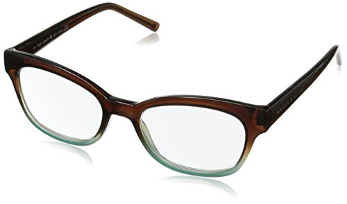 Kate Spade Women's Amilia Rectangular Readers, Brown & Blue Fade, - Kate Sunglasses 2