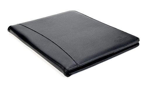 Professional Business Padfolio Portfolio Organizer Folder - Black