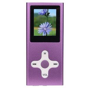 "SPI 2322 2GB USB 2.0 MP4/MP3/ Voice w/1.5"" LCD (Purple)"