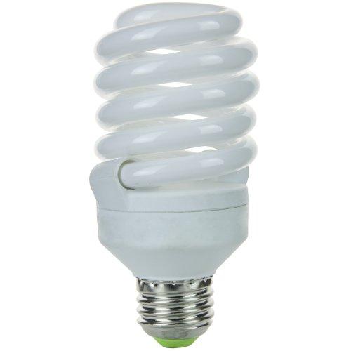 Sunlite SMS23F/50K SMS23F/50K 23-watt Super Mini Spiral Energy Saving Medium Base CFL Light Bulb, Super White ()