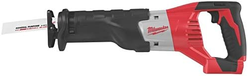 Bare-Tool Milwaukee 2620-20 M18 18-Volt Sawzall Cordless Reciprocating Saw Tool Only, No Battery