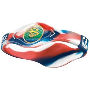 POWER BALANCE NBA BRACELET, LARGE