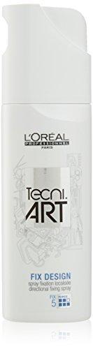 L'Oreal Tecni Art Fix Design Hair Spray Hold 5, 6.76 Ounce (Hair Fix)