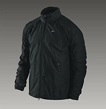 3f52c4ae117d Nike 011 Clima Fit Convertible Fit Storm Running Jacket Black 339648 Moss  Size XXL  Amazon.co.uk  Sports   Outdoors