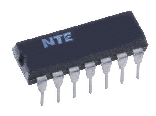 NTE Electronics NTE997 Integrated Circuit Quad Operational Amplifier, Indefinite Output Short Circuit Duration, 14-Lead DIP Package, 18V Supply Voltage (Quad Operational Amplifier)