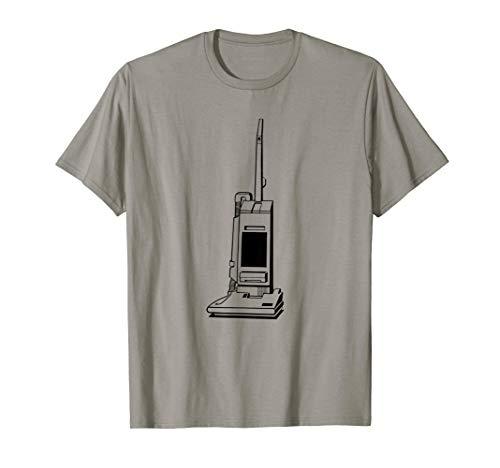 Retro Vacuum Cleaner Print T-Shirt