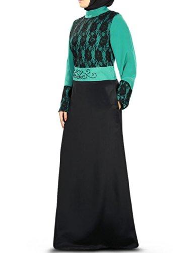 Mujeres Burqa Mybatua Ay Negro Abaya Y De 336 Musulmanes Ocasión Formal c8YYqwRT