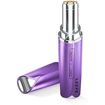 【在庫わずか】LEEFE 爪やすり付 USB充電式フェイスシェーバー 送料込855円