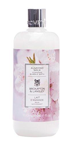 Brompton & Langley Foaming Bubble Bath, Almond Milk - Almond Milk Bath Salts