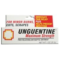 Unguentine maximum strength pain relieving antiseptic ointment - 1 oz