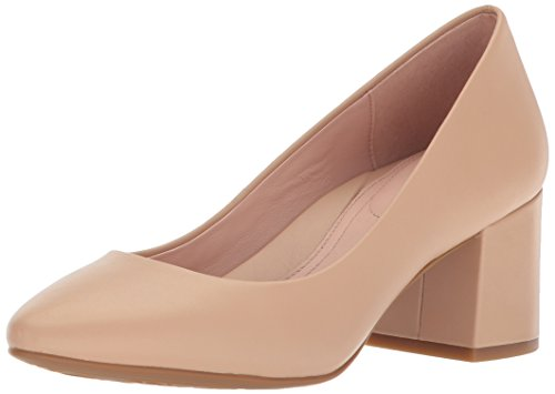 Taryn Rose Women's Rochelle Dress Calf Pump, Sand, 7.5 M M US ()