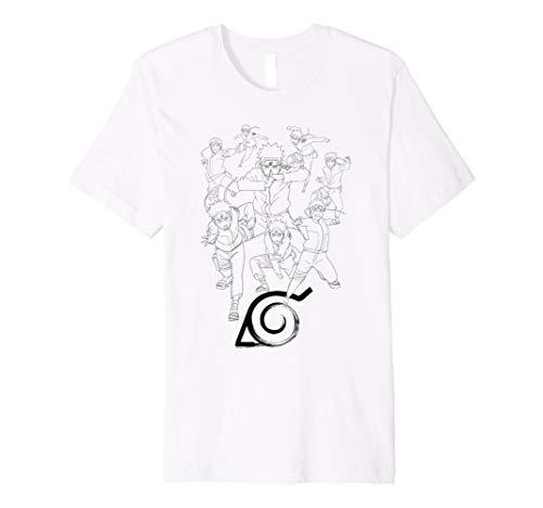 Naruto Naruto Shadow Clone T-shirt