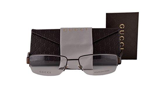 Gucci GG2219 Eyeglasses 55-17-140 Brass Black Havana Red Green 1CW GG 2219