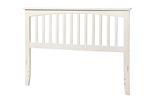 Mission Headboard, Queen, White by Atlantic Furniture