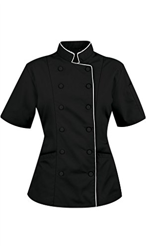 Review Chef Attires Short Sleeves