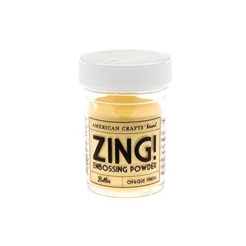 ! Opaque Embossing Powder 1-Ounce, Butter ()