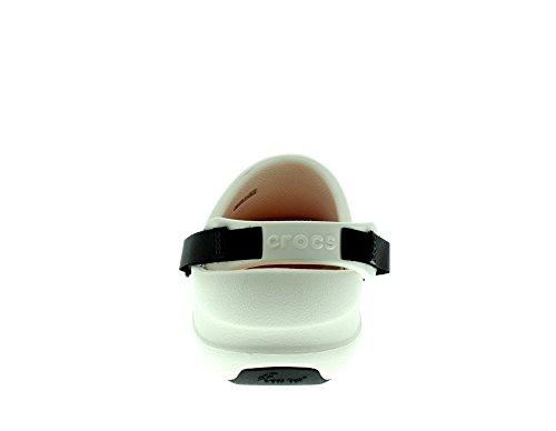 Crocs Bistro Pro Clog - Zuecos Unisex adulto Weiß (White 100)