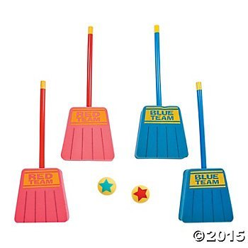 Broom Hockey Game for 12 Players - Foam -