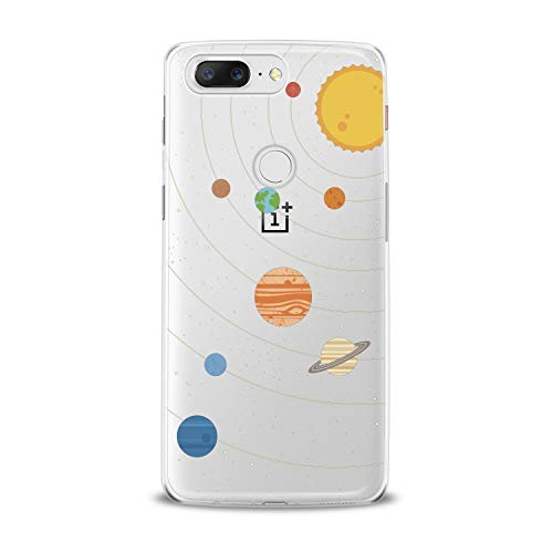 Lex Altern TPU Case for OnePlus 7 Pro 6T 6 2019 5T 5 2017 One+ 3 1+ Cute Planets Clear Solar System Cover Soft Silicone 2018 Print Protective Sun Galaxy Themed Design Transparent Kids Girls Women]()