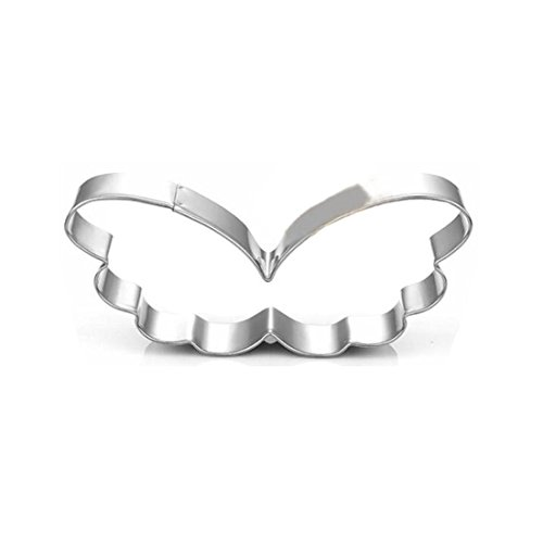 WJSYSHOP Angel Wings Cookie Cutter - Stainless Steel