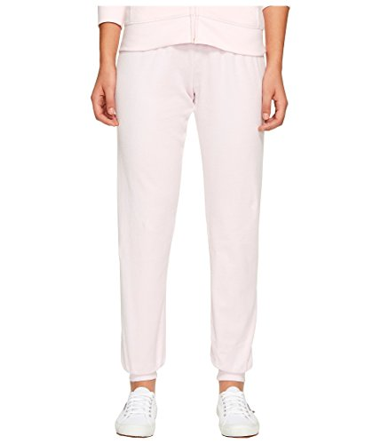 Juicy Couture Women's Zuma Velour Pants Whisper Pink Small 29