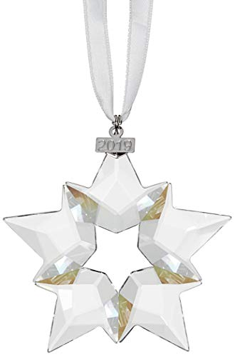 Swarovski Annual Edition 2019, Large Christmas Ornament, Clear (Christmas Ornaments)