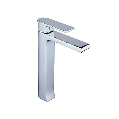 - Leekayer Bathroom Vessel Sink Faucet Single Handle One Hole Deck Mount Mixer Tap Lavatory Chrome